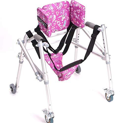 Rollatoren Zubehör Walker Kinder Walker Kinder Faltbare Beintrainingsgerät Assisted Gehhilfe for Fractured Behinderte Menschen Universal-Rad-Multifunktions Lower Limb Walker