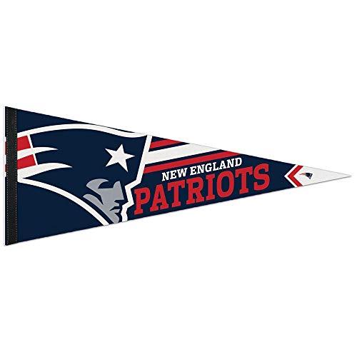 NFL 14519115 New England Patriots Premium Wimpel, 30,5 x 76,2 cm