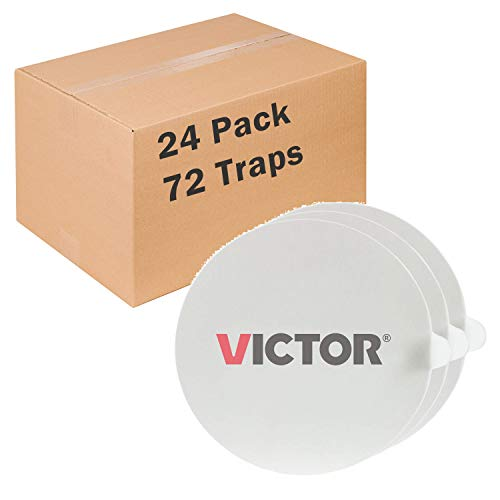 Victor ultimate Flea Trap Refill glue boards - 3 glue boards per pack - pack of 24