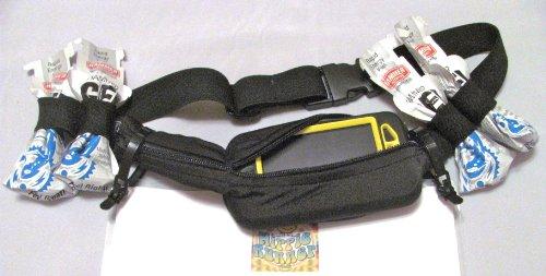 ExpandaBelt-The Original No Bounce Runners Belt, Runners Gear Belt, Refuel Belt, Hydration Belt, Running, Hiking, Cycling, Fanny Pack, Marathon, 10K, 5K