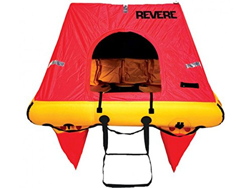 Best Buy! Revere Coastal Elite 4 Valise Liferaft