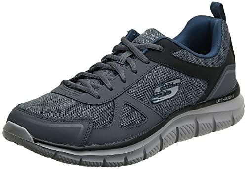 Skechers 52631-GYNV_41,5, Zapatillas de Running Hombre, Grey, 41.5 EU