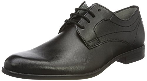 FRETZ men Herren Oskar Derbys, Schwarz (Noir), 39 1/3 EU (6 UK)