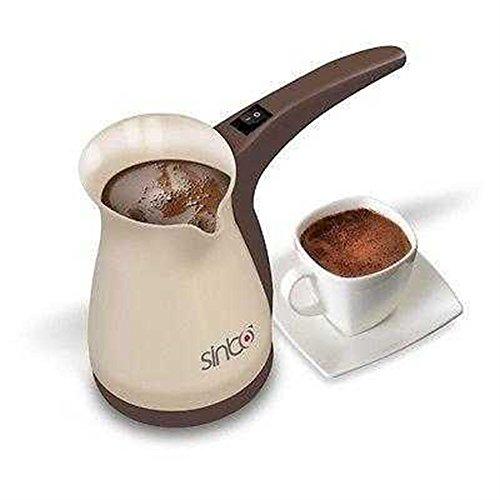 Sinbo SCM2928 Kaffeekanne, Ideal für die türkische Kaffee, 0,4 L Kammerkapazität, 1000 W