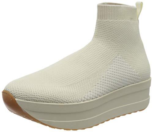 Vagabond Damen Casey Hohe Sneaker, Weiß (Offwhite 02), 35 EU