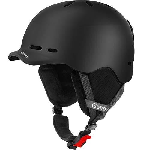 Gonex Ski Helmet, Snow Snowboard Helmet with Detachable...