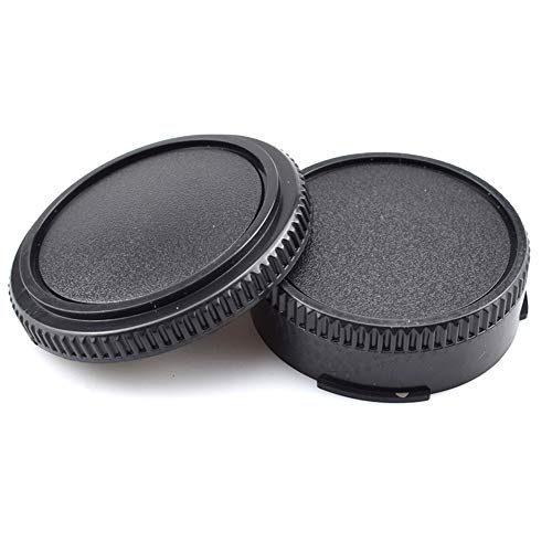 Camera Body and Rear Lens caps,Compatible with for Canon FD and for Canon FL 35mm SLR Mount Body and Lenses