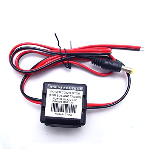 Feeldo 12 V T0 36 V stéréo de voiture d'alimentation d'filtre de bruit retirer pour lumière LED ou moniteur