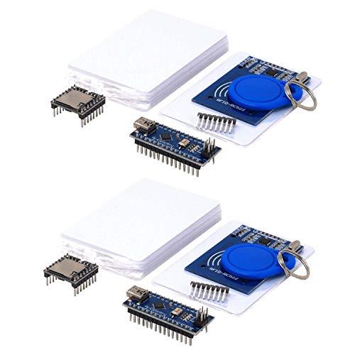 AZDelivery 2 x TonUINO Set (Mp3 Player, Nano V3.0, RFID Kit und 10 x 13,56 MHz RFID Karten) inklusive E-Book!