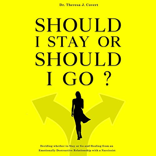 Should I Stay or Should I Go audiobook cover art