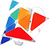 Nanoleaf Light Panels Rhythm Starter Kit - 9x Modulare Smarte LED mit Sound Modul