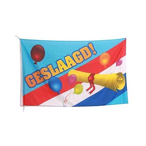 Geslaagd gevel vlag 150x90 cm
