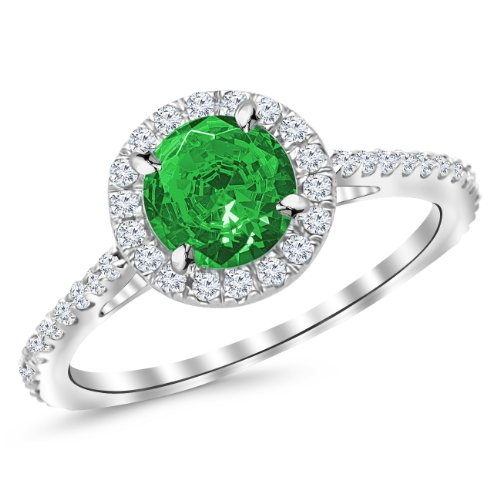1.4 Ct Emerald Diamond - 2