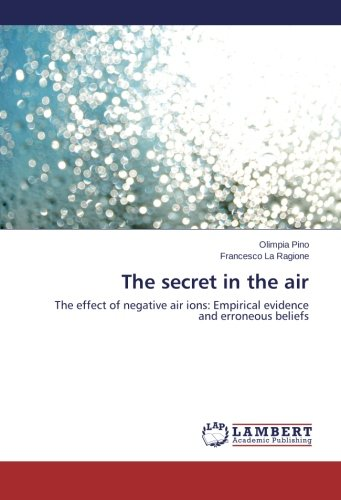 The secret in the air: The effect of negative air ions: Empirical evidence and erroneous beliefs