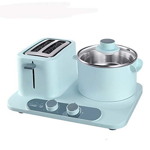 STRAW Pan tostadora eléctrica Horno de cocción Mini Tortilla multicooker sándwich de Huevo Hornear Alimentos Caldera de Vapor freír Máquina del Desayuno Pan (Color : B)