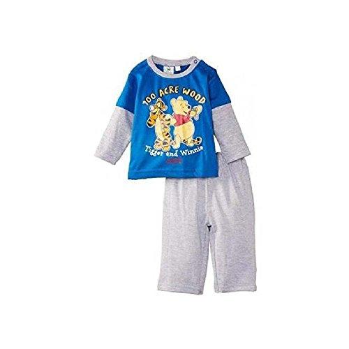 Winnie l'ourson - Ensemble Deux pièces - bébé garçon - Bleu rayé