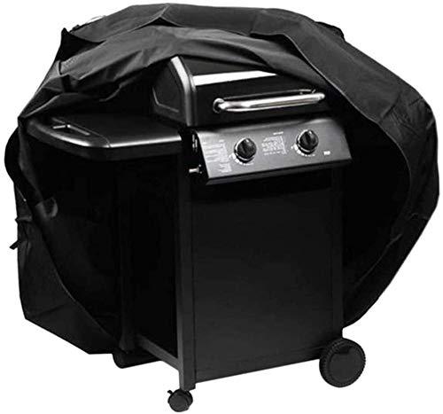 Mirui Mobilier de Jardin étanche Coque for Barbecue Bâche de Protection du Couvercle Anti-poussière for Barbecue (Noir / 100 x 60 x 150 cm, 190 × 71 × 117 cm, 170 × 61 × 117 cm, 145 × 61 × 117 cm)