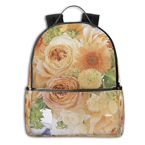 Bouquet Composition Earth Flower Gerbera Roses Vase Multifunktionale College Bag Studenten Casual Daypack Reise Rucksack Schule Laptop Bookbags