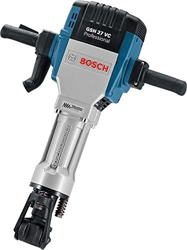 Bosch Professional Schlaghammer GSH 27 VC (2.000 Watt Nennaufnahmeleistung, 62 J Schlagenergie, max., 1.000 min-1 Schlagzahl bei Nenndrehzahl, im Karton)