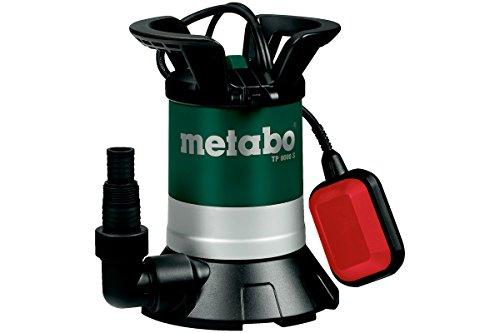 Metabo TP 8000 S Duikpomp voor helder water, incl. hoekaansluiting met multiadapter, vlotterschakelaar, 250800000