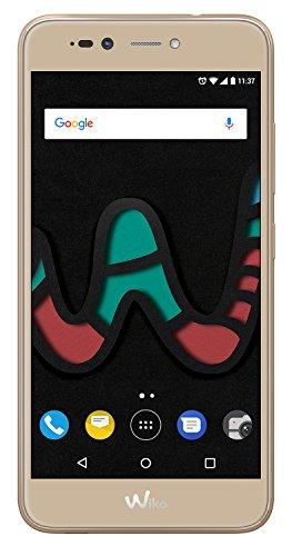 Wiko U Pulse Lite Gold (Smartphone, 5,2 Zoll HD, 13 MP Kamera, 8MP Selfie-Kamera, Android, Fingerabdruck, 32GB ROM/3GB RAM, Quad-Core CPU, 4G, Dual-SIM, Speicher erweiterbar um bis zu 128GB, Gold)