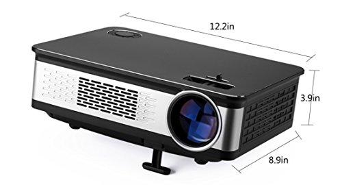 Proiettore LED HD 1080P Business Office Home Mini Proiettore