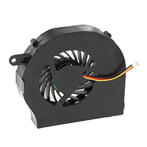 MagiDeal Ventilador de CPU para Computadora Portátil, Enfriador de Disipador de Calor para Pavilion G62 G72 CQ62 CQ72 (1 Paquete)