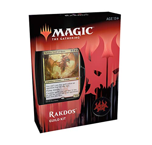 Magic The Gathering Ravnica Allegiance - Kit de Gremio: RAKDOS