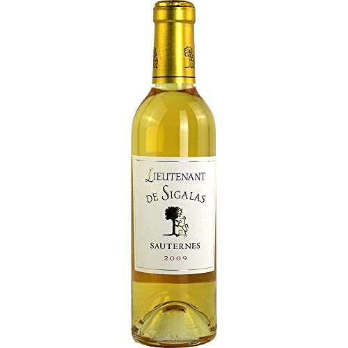 Lieutenant de Sigalas 2009 Sauternes AOC Weißwein lieblich Chateau Sigalas Rabaud Frankreich 375ml-Fl (47.47€/L)