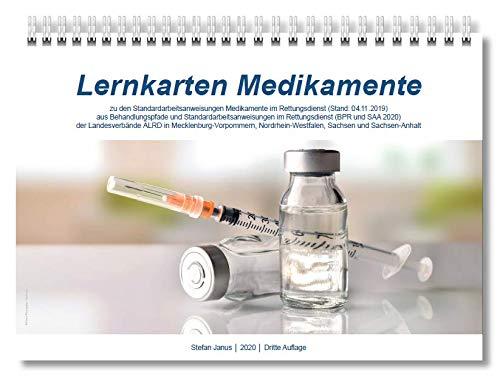 Lernkarten Medikamente (zu BPR und SAA 2020)