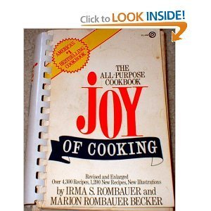 Paperback The Joy of Cooking : Comb-Bound Edition Book