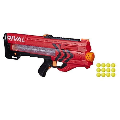 Nerf Rival B1591 Zeus MXV 1200 - Pistola de Bolas