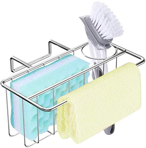 kitchen sponge holder, 3-in-1 spong…