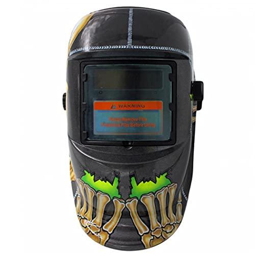 máscara de soldadura casco de soldadura de oscurecimiento automático accionado solar de la capilla Mig Tig soldador de arco Protección para los ojos de la cara de Seguridad Accesorios Gear