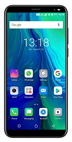 Surya Ismart i-1 Dynamite 4G Volte (Jio sim Supported) 5.99 Inch Display 4G Smartphone (2GB RAM, 16GB Storage) in Black Colour