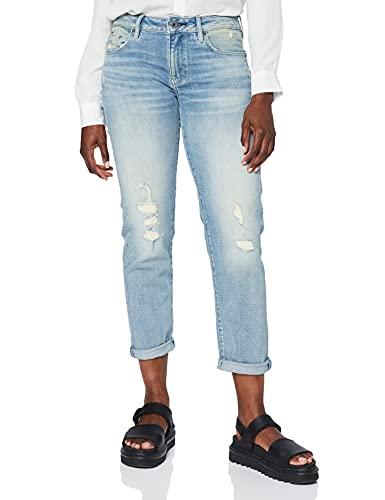 G-STAR RAW Damen Kate Boyfriend' Jeans, Vintage cool Aqua Destroyed C052-C278, 28W / 30L