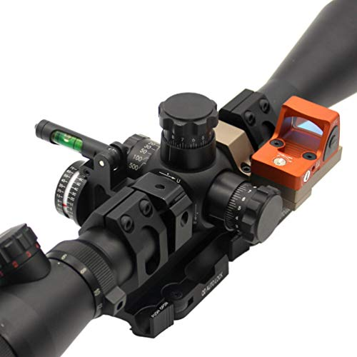 YCDEAR Micro Red Dot Mount für Docter/RMR/DP Pro/T1/T2 Red Dot Sight Mount mit Riser Mount