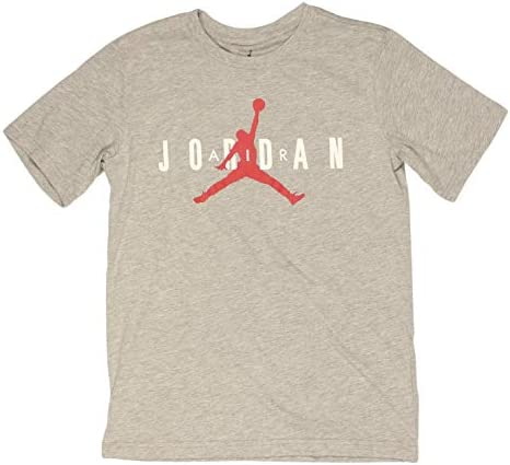 Nike Jordan Camiseta de Manga Corta Color Gris para Niños