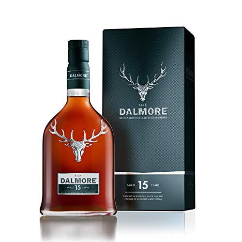 The Dalmore 15 Jahre Single Malt Scotch Whisky mit Geschenkverpackung (1 x 0,7l)
