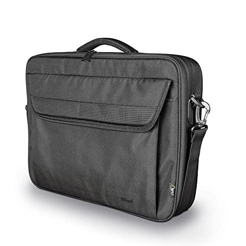 Trust Atlanta Borsa Riciclata per Laptop con Schermo da 17.3', Nero