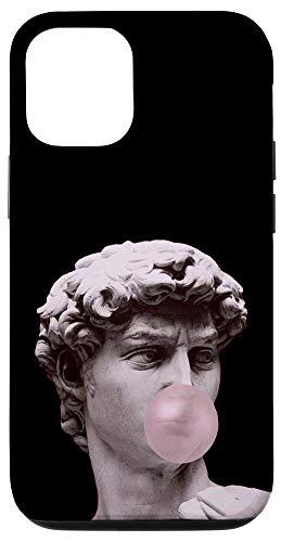 iPhone 12/12 Pro David Statue David Sculpture Bubble Gum Aesthetic Vaporwave Case