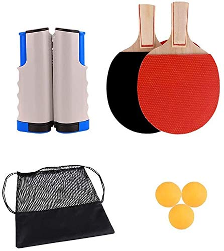 Best Price Professional Ping Pong Paddle Racket Bocotoer Professional Ping Pong Paddle Set etractabl...