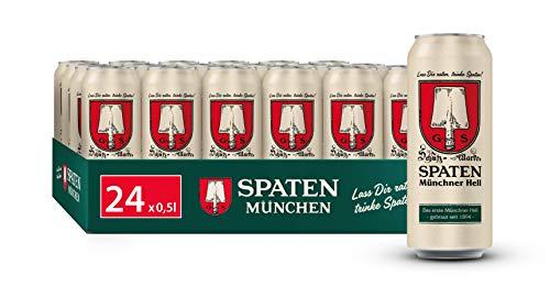 SPATEN Münchner Hell Dosenbier EINWEG (24 x 0.5 l), Helles aus München