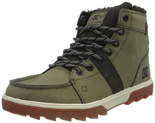 DC Shoes Woodland, Zapatillas Hombre, Deep Jungle, 38 EU