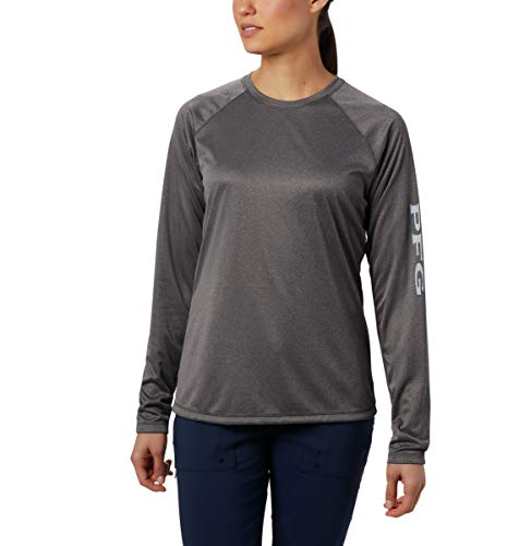 Columbia Womens Tidal Tee Heather Long Sleeve Shirt
