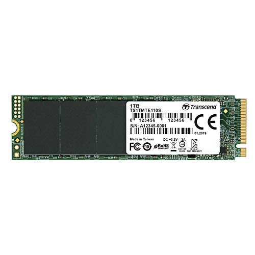 Transcend 1TB NVMe PCIe Gen3x4 M.2 80mm Solid State Drive 1
