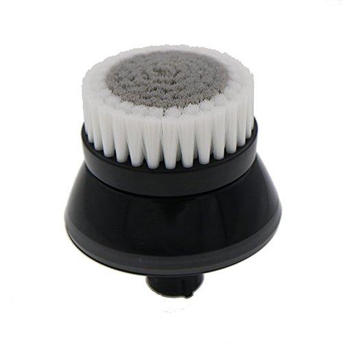 VINFANY Negro Facial suave de fibra Limpieza facial Limpieza profunda Lavado Cuidado de poros Afeitadora Cabeza de cepillo para Philips RQ12 RQ11 RQ320 RQ370 YS523 YS526 S9000
