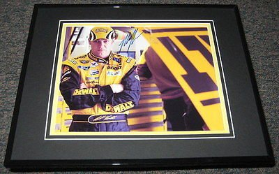 Matt Kenseth NASCAR Auto Racing Framed 8x10 Photograph 2003 Winston Cup Trophy