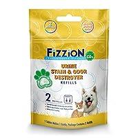 Fizzion 尿ペットステインや臭気デストロイヤーは - CO2のプロフェッショナル洗浄力(2錠)を安全にペットの尿の汚れや臭いを除去します