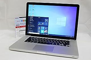 即日発送可 良品 15.4インチ Apple MacBook Pro A1286 Mid-2012 Win10 + macOS 10.15 三世代i7 4GB 500G NVIDIA GT650M 無線 カメラ Office付 中古 パソコン